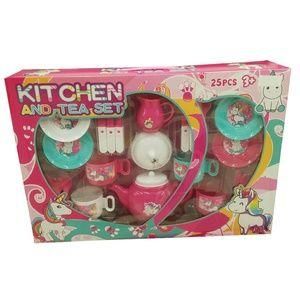 Kids Unicorn Kitchen and Tea Set